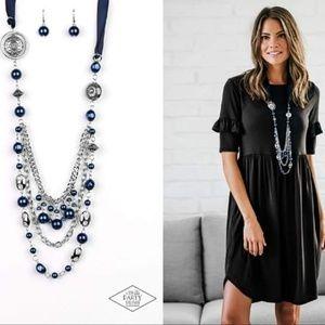 Ribbon Necklace Set - Fashion Accessories